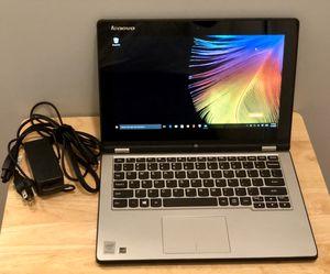Lenovo yoga 2 11 500G Drive 4GB Windows 10 for Sale in Kennesaw, GA