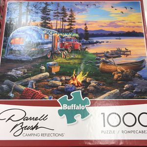 NEW!!! 1000 Piece Puzzle CAMPING REFLECTIONS for Sale in Torrance, CA