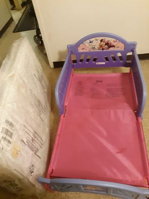 Girl kid bed with mattress for Sale in Cleveland, OH