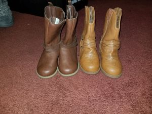Toddler girls size 6 boots for Sale in Lebanon, PA