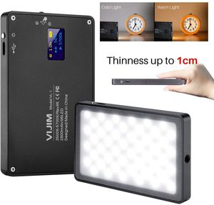 VIJIM DSLR LED Video Light on-Camera Dimmable Bi-Color 3000-6500K CRI 96+ Built-in 2800mAh Battery for Sale in Fontana, CA
