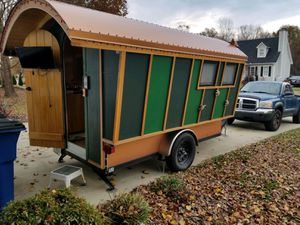 Trekker Gypsy Wagon Camping Trailer (Tiny Home) for Sale in Jacksonville, FL