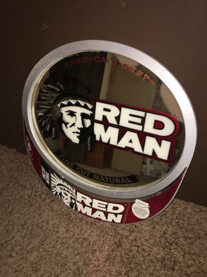 Red man mirror for Sale in Sulphur, OK