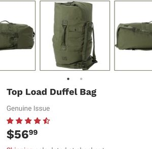MILITARY GRADE DUFFEL BAG for Sale in Clifton, NJ