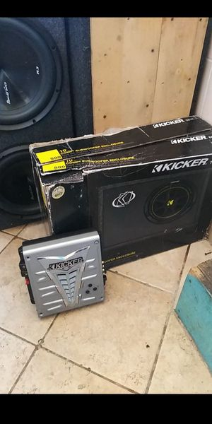 Kicker bundle for Sale in Piedmont, CA