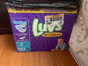 Luvs Pampers new for Sale in Santa Ana, CA