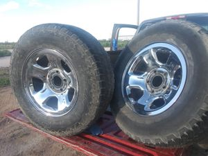 Set 17 in rims n tires for Sale in Odessa, TX