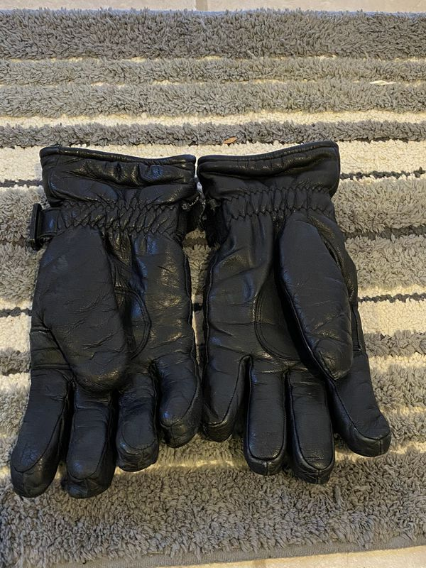 Used Polaris Leather Snowmobiling Gloves
