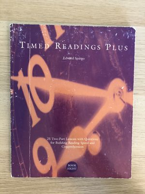 Times reading plus 8 for Sale in Columbia, SC