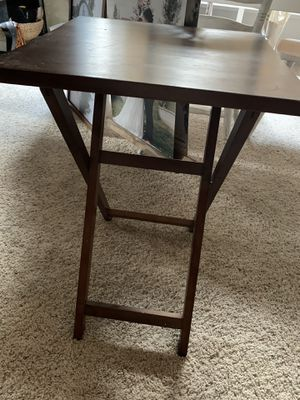 Solid wood end table for Sale in Kirkland, WA