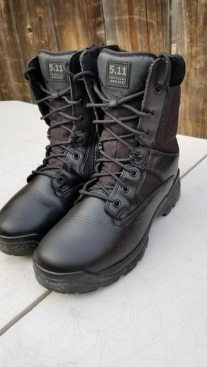 5.11 soft toe leather work boots size 12 for Sale in Modesto, CA