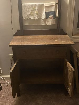 Antique washbowl stand for Sale in Fairfax, VA