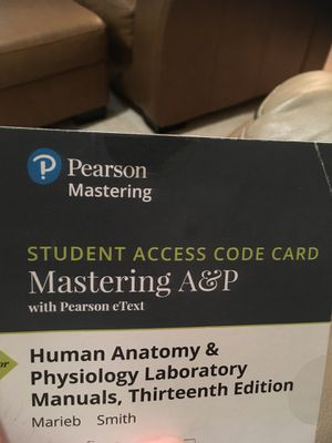 College A&P Access Code (never used) for Sale in Atlanta, GA