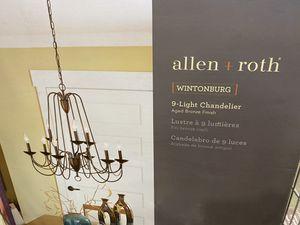 9 light chandelier brand new for Sale in Lake Wales, FL