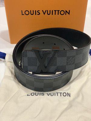 Black damier LV belt for Sale in Brooklyn, NY