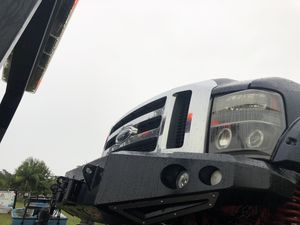 2008-2010 f250 f350 front and rear smitty bilt m1 bumpers for Sale in Clearwater, FL