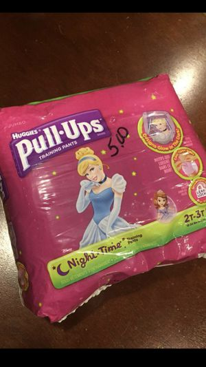 Huggies Pull-Ups - Night Time Glow in the Dark for Sale in Arnold, MO