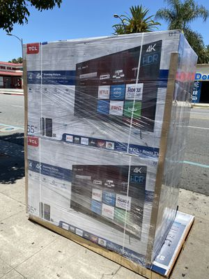 65 INCH TCL ROKU BRAND NEW HUGE TV SALE SMART 4K TVS for Sale in Burbank, CA