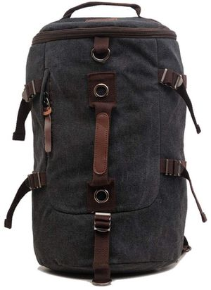 Canvas Backpack Rucksack Vintage Backpack Casual School Hiking Travel Crossbody Double-Shoulder Backpack for Sale in Piscataway, NJ
