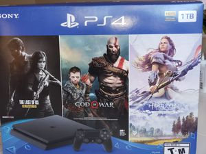 Sony - PlayStation 4 1TB Only on PlayStation Console Bundle - Jet Black , one controller for Sale in Fairfax, VA