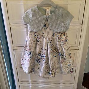 18moths Laura Ashley Dress And Sweater Set for Sale in Boynton Beach, FL