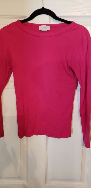 Shirt, ribbed Express size small hot pink for Sale in Allen, TX