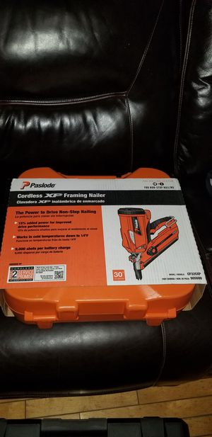 Brand new paslode 30 ° framing nailer never open for Sale in Chicago, IL