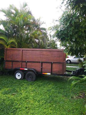 tandem axle utility trailer. for Sale in Miami, FL