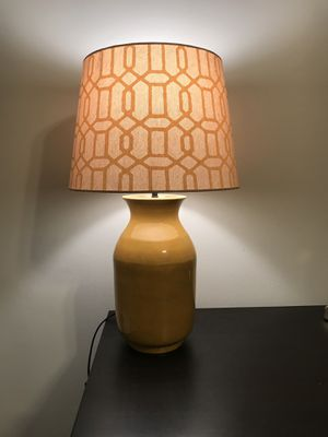 Marigold Table Lamp - Shade & LED Bulb Included! for Sale in Dallas, TX