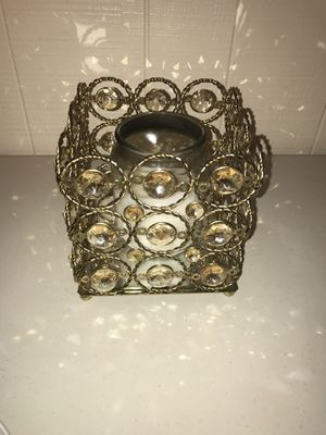 Shabby Chic Candle Holder Stones Decor Home for Sale in Madison Heights, MI