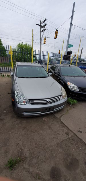 2004 Infiniti G35 for PARTS for Sale in Hamtramck, MI