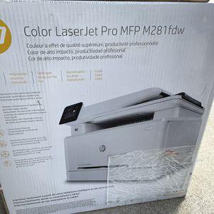 HP color laserjet pro MFP M281 Printer for Sale in Santa Ana, CA