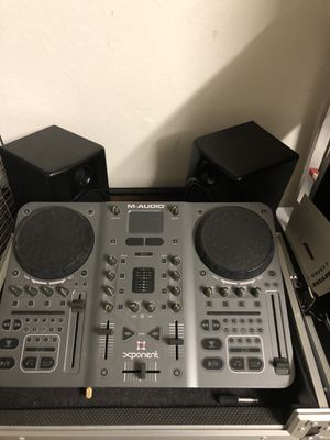 M Audio xponent DJ table / dJ equipment for Sale in Costa Mesa, CA
