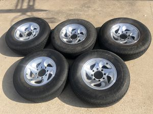 8 on 6.5 wheels and tires for Sale in Rowlett, TX