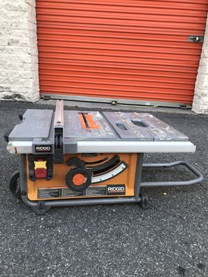 Ridgid potable table saw for Sale in Arlington, VA