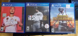 Ps4 games for sale or trade. for Sale in San Jose, CA