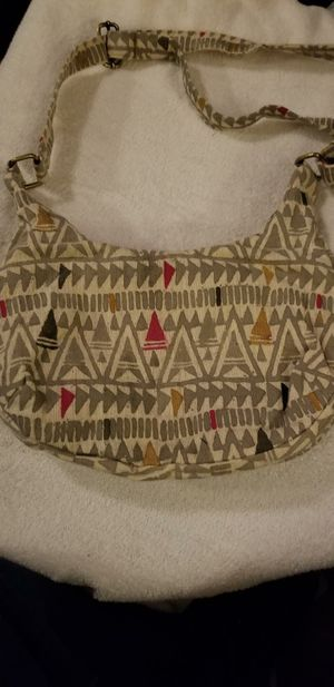 Joyn Medium Crossbody. Beautiful Handmade Heavy Cotton Bag In Excellent Condition. for Sale in Indianapolis, IN