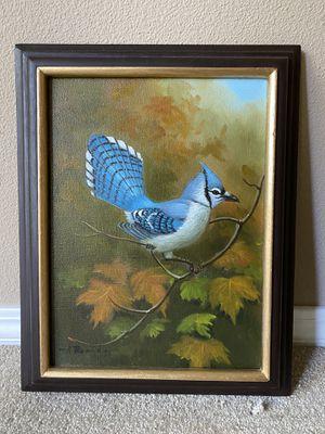 Blue Jay painting for Sale in Spokane, WA