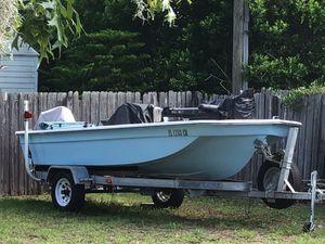 16' Center Console boat with trailer for Sale in Deltona, FL