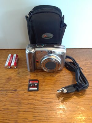 Cannon PowerShot A720 Digital Camera W/Case & Memory Card for Sale in Old Mill Creek, IL