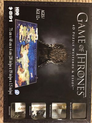 Game of thrones puzzle for Sale in Millersville, MD