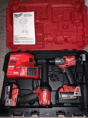 Milwaukee Impact And Drill Fuel Set for Sale in Hattiesburg, MS
