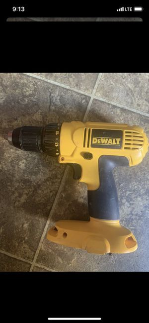 Dewalt drill driver 2 speeds 18v it works excellent (tool only) for Sale in Downers Grove, IL