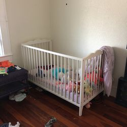 Bed/changing Table 30 Each /50 Both Yes It Has The Side Rail for Sale in Clearwater,  FL