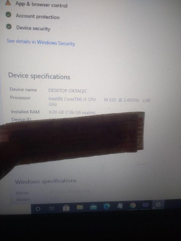 Lenovo i5 Laptop