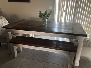 Table with two chairs for Sale in Farmersville, CA