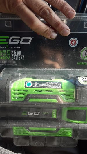 EGO power battery Arc lithium 56v 2.5 ah battery for Sale in Turlock, CA