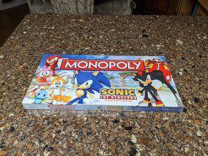 Monopoly | Sonic The Hedgehog | Collectors Edition | Rare for Sale in Peoria, AZ