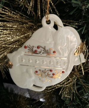 24k Vintage Lenox Cats Christmas Tree Ornament for Sale in Mentor, OH