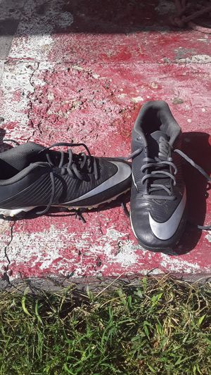 Football cleats 2 size 12 1 Nike size 8 1 Nike size 9 and 1/2 for Sale in Frederick, MD